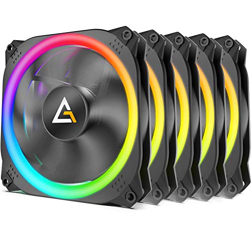 Antec Prizm 120 ARGB 5+C 120 mm Case Fan Controller 5 in1 Pack