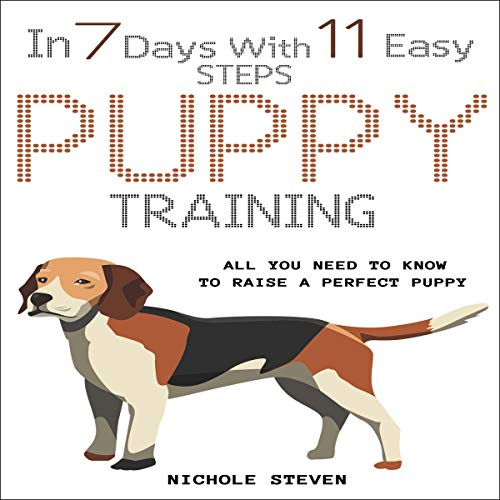 Puppy Training in 7 Days with 11 Easy Steps cover art
