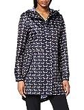 Joules Women's Golightly Rain Jacket, Sausage Dog, 14
