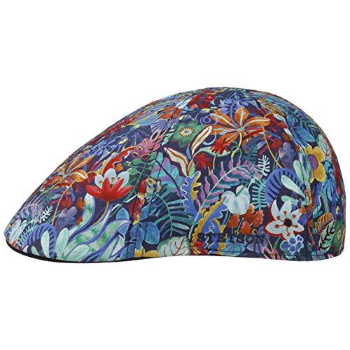 Stetson Gorra Jungle Hombre - de Verano Gorro Ivy con Visera, Forro Primavera/Verano - L (58-59 cm) Multicolor