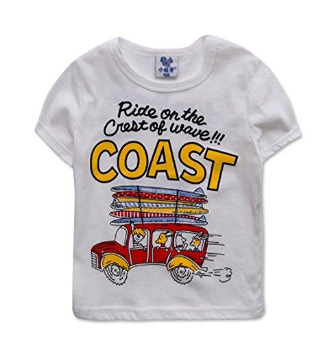 Tendance pour garçon Chemise spéciale T-shirt pour Cool Boy - - Taille Unique