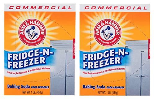 16 oz. Fridge - N - Freezer Baking Soda Odor Absorber, Set of 2