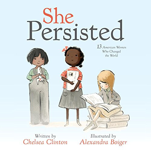She Persisted audiobook cover art