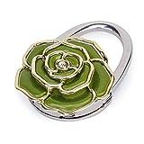 Pixnor Rose Blumen förmigen Klapp Handtasche Handtasche Hanger Tisch Haken