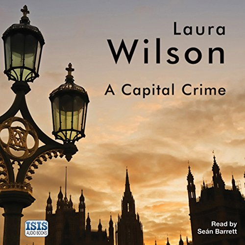 A Capital Crime audiobook cover art