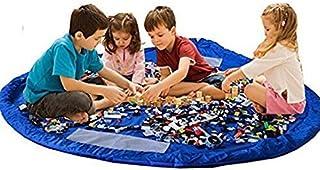 Kinderen Opruimzak Speeldeken Speeldeken Speelgoed Opbergtas Speelgoed Opslag Speelmat Spelen Kids Mat BigNoseDeer 60 inch...