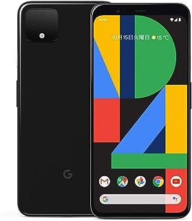国内版SIMフリー Google Pixel 4 XL 64GB Just Black