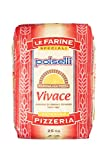 VIVACE | All Natural | '00' Flour for Pizza, Pasta, and Baking | Formulated 24-72 hour rise | (25 kg) 55 lbs by Polselli