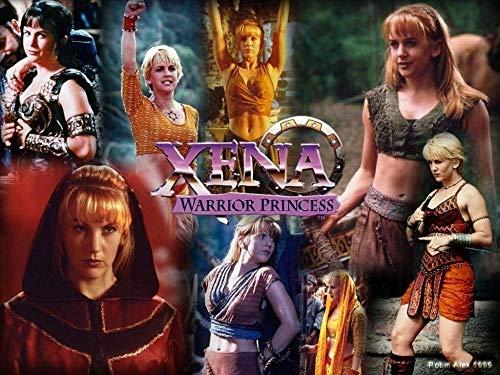 TTXD Puzzle 1000 Piezas Adultos,Xena la princesa guerrera,Rompecabezas de Madera, Juguetes intelectuales, desafiante Rompecabezas Informal para Adultos y Adolescentes 50x70cm