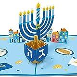 Hanukkah Pop Up Card 3D Cards Chanukah Festival Greeting Card Gift for Your Kids Friends…