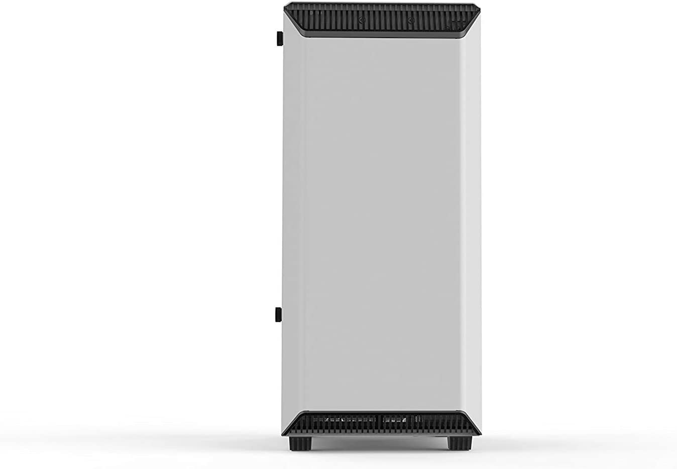 ATX Mid Tower AT-14 Gaming Computer Case, Tempered Glass Side Panel Optimized for High Airflow and Silent Computing with Moduvent Technology - 2X 133mm Silent Fans Included