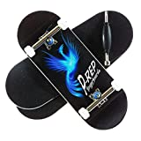 P-REP Phoenix - Solid Performance Complete Wooden Fingerboard (Chromite, 34mm x 97mm)