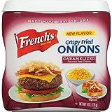 French's Caramelized Crispy Fried Onions, 6 oz, Tasty Onion Flavoring