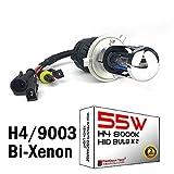 Bombillas de repuesto de xenón HID de 55 W para sistema HID de posventa de 12 V 24 V (paquete de 2)