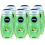 6 x NIVEA Duschgel Women'Lemongrass & Oil' - 250 ml