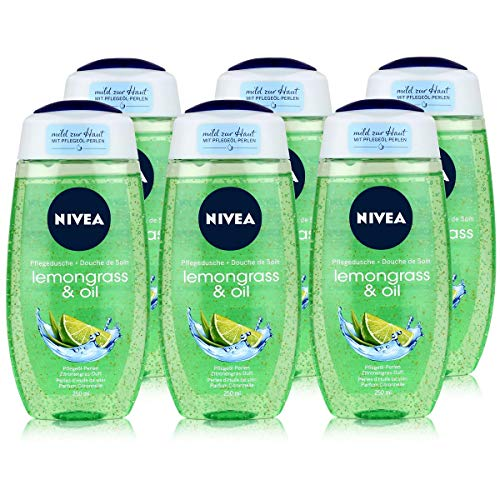 Nivea Lemongrass & Oil Pflegedusche, 6er Pack (6 x 250 ml)