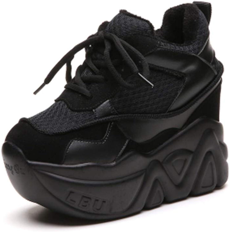 NAFTY Damenschuhe Stiefel Damenschuhe Schnürschuhe High Heel Wedge Platform Damenschuhe  | Fuxin