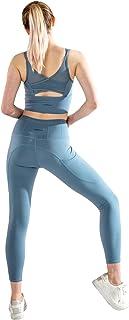 NVDENIMME Women's Medium Support Sports Bra Quick Dry Gym Running Workout Tank Tops