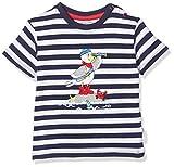 Salt & Pepper Baby-Jungen 03212103 T-Shirt, Blau (Navy 498), (Herstellergröße: 80)