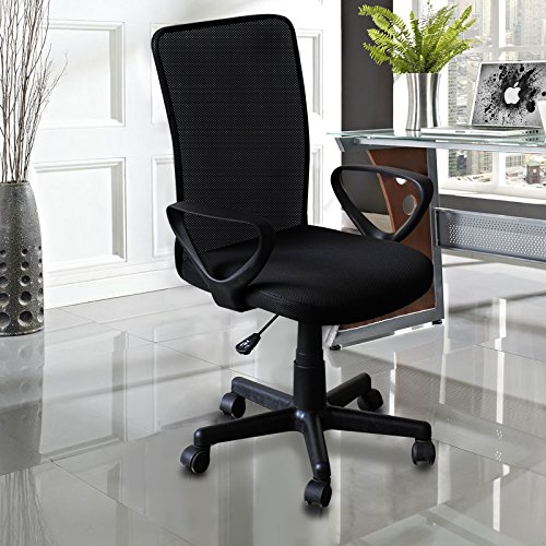 IDS Online Ergonomic Mesh Medium Back Computer Desk Task Office Chair With Arms Upgraded