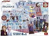 Educa- Frozen Set Especial 8 Juegos, a Partir de 4 años (18379)