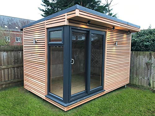 Serenity 12' x 8' Garden Room Log Cabin Pod Summerhouse Office