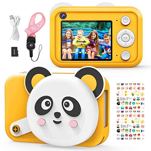 joylink Cámara para Niños, 2,4 Inch Pantalla Cámara de Fotos para Niños Cámara Selfie de 16MP 1080P HD Video Cámara Digital para Niños con Tarjeta TF de 32GB