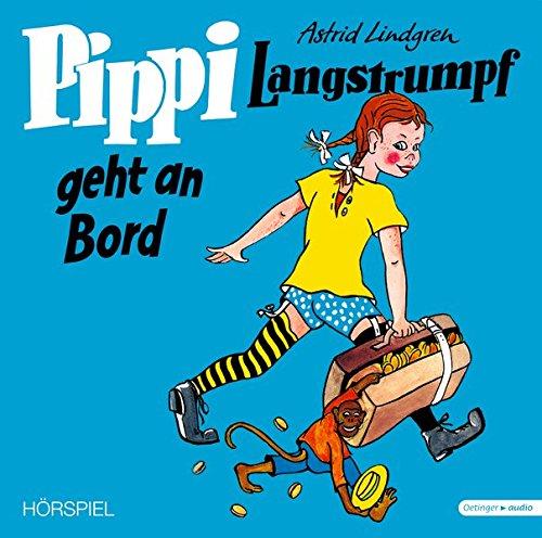 Pippi Langstrumpf geht an Bord – Vinyl Ausgabe (Schallplatte): Hörspiel, ca. 52 min.
