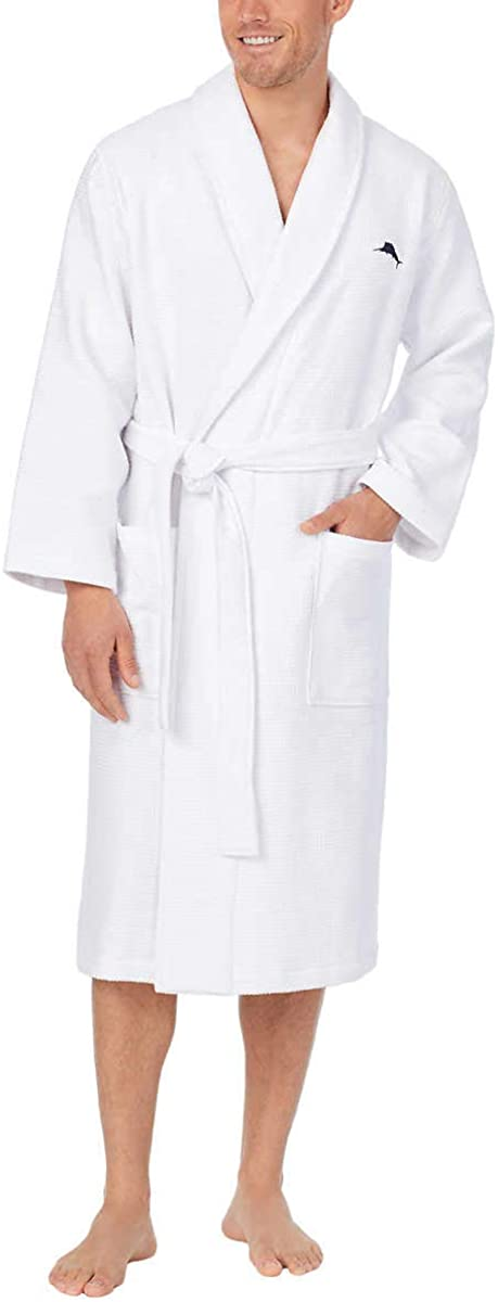 Tommy Bahama Men's Waffle Terry Our New Free Shipping shop most popular Robe