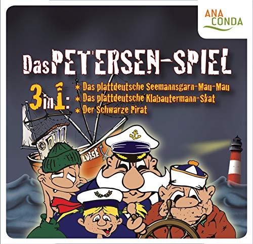 Das Petersen Spiel - Seemannsgarn-Mau-Mau - Klabautermann-Skat - Der Schwarze Pirat