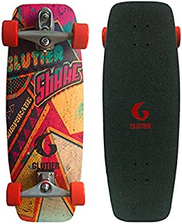 Glutier Surfskate Pop Shake 27,25 Surf Skate Skate...