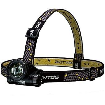 【Amazon.co.jp限定】GENTOS(ジェントス) LED ヘッドライト 【明るさ45ルーメン/実用点灯8時間/防滴】 リゲル GTR-931H ANSI規格準拠
