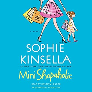 Mini Shopaholic audiobook cover art