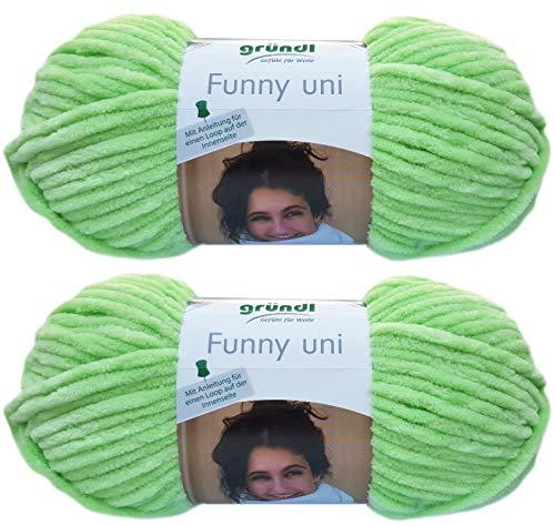 Gründl Funny Bunny - Hilo suave (2 paquetes de 100 g, incluye instrucciones para un conejo) 21...