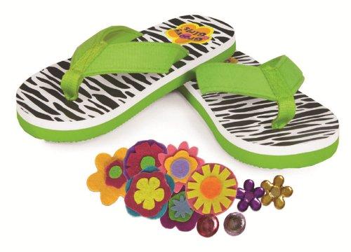Manhattan Toy Kit de Loisir Créatif - Groovy Girls - Flip Flops à Décorer