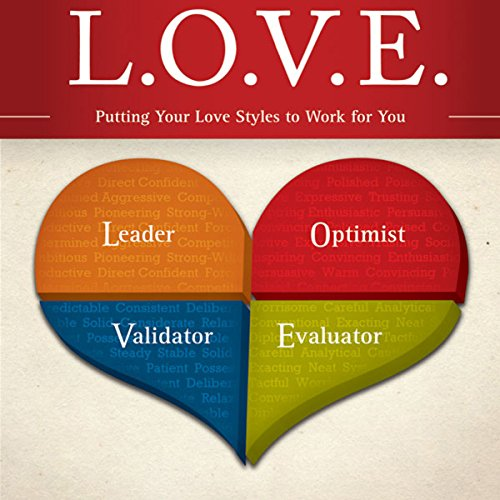 L. O. V. E.     Putting Your Love Styles to Work for You              By:                                                                                                                                 Les Parrott,                                                                                        Leslie Parrott                               Narrated by:                                                                                                                                 Les Parrott,                                                                                        Leslie Parrott                      Length: 4 hrs and 18 mins     6 ratings     Overall 4.3