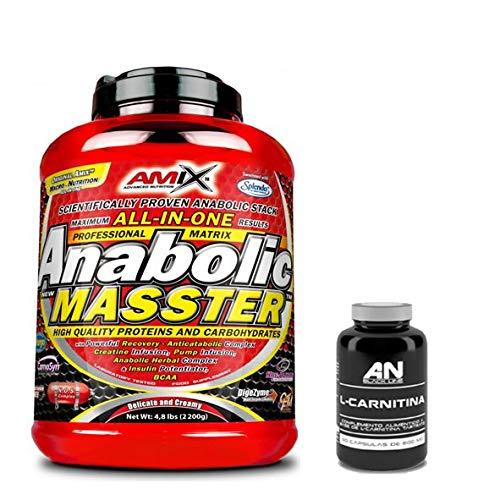 AMIX Anabolic Masster 2kg Fresa + Carnitina