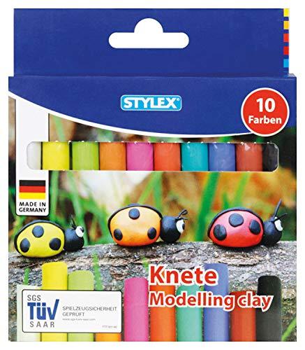 Stylex 25011 Knete Modelliermasse (10 Stück)