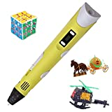 3D Stereo Drawing Pen Best Gift DIY (Toy) for Kids or Friend with LCD...