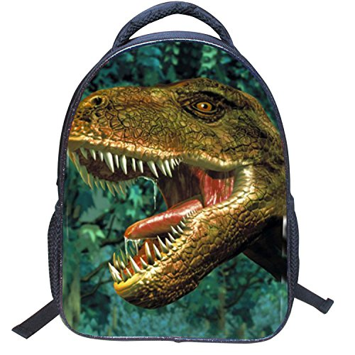 AnKoee 3D Carina Dinosauro Zaino per bambini Zaino Kindergarten Sveglio Zaini per Infanzia Ragazze Ragazzi (Style05)