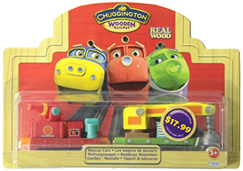 TOMY Chuggington LC56016 - Rettungswagen Holz Sortiment