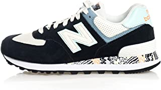 New Balance Side Stitched Logo Patterned Sole Lace up Sneakers For Women