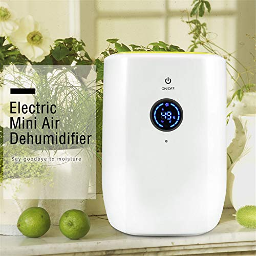 Great Features Of BABIFIS 800ML Electric Air Dehumidifier for Home Portable Moisture Absorbing Air D...