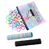 300 Pack Hair Ties BEoffer Baby Toddlers Girls Elastics Hair bands Black Colorful Small Rubber Bands Ponytail Pigtails Holders Not Harm to Hair (Color B)