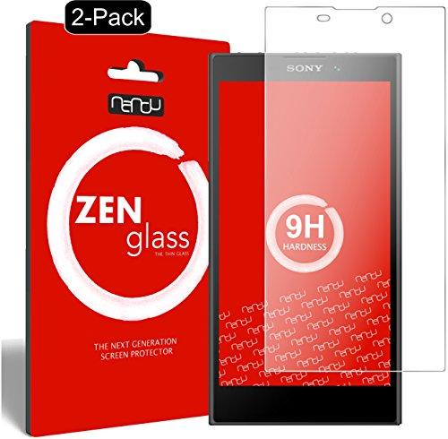 nandu I ZenGlass [2 Pezzi] Pellicola Protettiva in Vetro Compatibile con Sony Xperia L2 I Protezione Schermo 9H