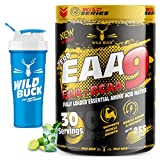WILD BUCK EAAs-BCAA Energy Drink for Workout | Pre/Post Workout Supplement | Muscle