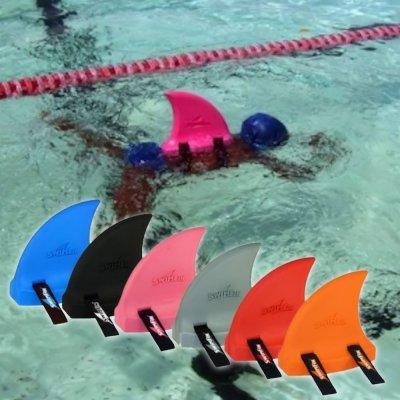 Only Swim Swimfin Enfants l'apprentissage et Gilet de flottaison de Natation pour Enfant Piscine Bain Fin, Orange