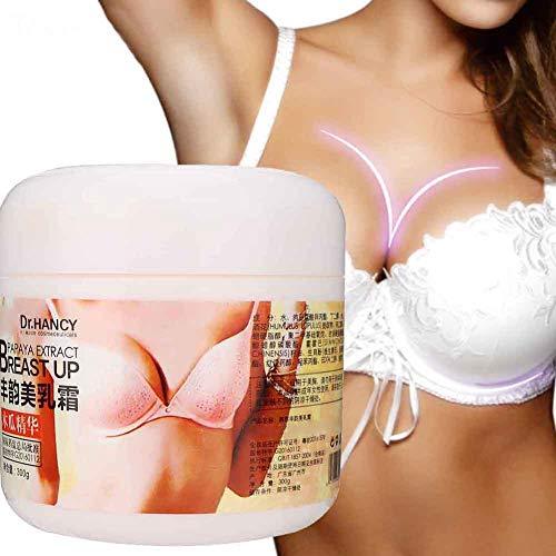 Brustvergrößerung, Natürliche Bruststraffungscreme, Breast Enlargement Cream Brustvergrößerungscreme ätherisches Brustöl Straffungscreme und natürliche Liftingcreme 300g(1#)