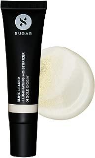 SUGAR Cosmetics Bling Leader Illuminating Moisturizer - 01 Gold Diggin' - Warm gold with a pearl finish