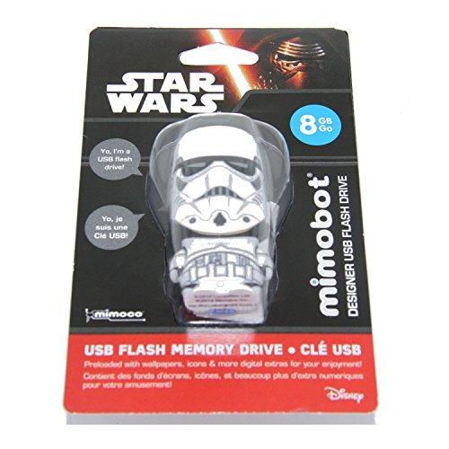 Mimobot Star Wars - Memoria USB (8 GB), diseño de Soldado Imperial